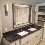 Custom bathroom cabinet